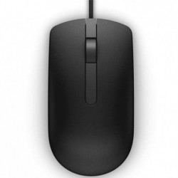 DELL Wired Optical Mouse Black MS116