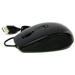 DELL Laser Scroll USB (6 Buttons) Black Mouse