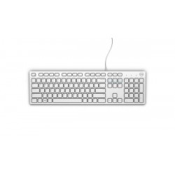 DELL Keyboard : US-Euro (Qwerty) Dell KB216 Quietkey USB, White